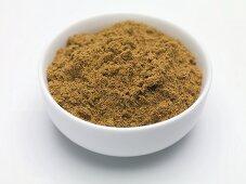 Spice mixture (Quatre épices) in small bowl
