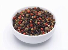 Mixed peppercorns (unground)