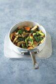 Pan-fried vegetables