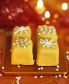 Petit fours for Christmas
