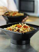 Chinese take-away noodle dish