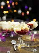 Sherry trifle for Christmas dinner