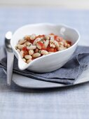 Fagioli all'uccelletto (white beans with sage, Tuscany)