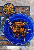 Yucatan-style chicken kebabs