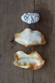 Wafer shells with aluminum foil