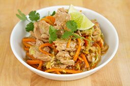 Stir-fried pork and vegetables