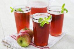 Cranberry-apple juice