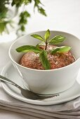 Kibbeh nayeh (raw lamb with mint, Lebanon)