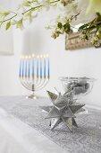 Festive Hanukkah Decorations