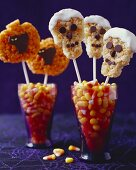 Halloween Rice Krispie Treat Pops