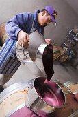Refilling Wine Cask