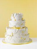Pretty Lemon Wedding Cake