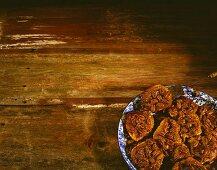 Plate of Pecan Buns