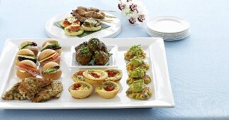 Finger food for a party