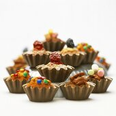 Mini-muffins for children's party