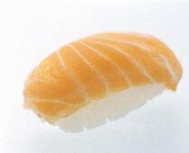 One Salmon Nigiri Sushi