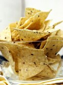 Tortilla Chips in a Dish