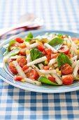Crunchy Summer Salad on a Plate