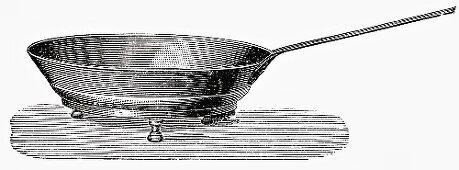 Old frying pan (Illustration)