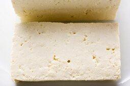 A slice of tofu
