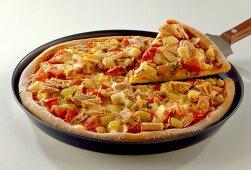 Pizza with Tuna