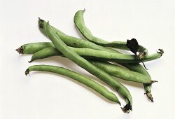 Several green beans
