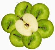 Several 'Granny Smith' apples