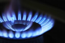 Gas flame (close-up)