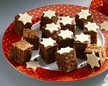Chocolate squares for Christmas