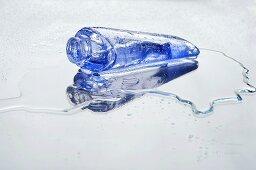 Tube of blue gel