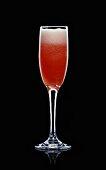 American Glory (Sparkling wine, grenadine, orange juice)