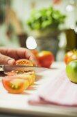 Slicing tomato