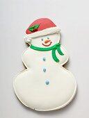 Snowman biscuit