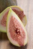 Fresh fig (half and quarter)