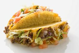 Two mince tacos