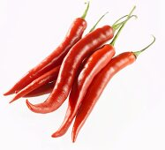 Several red chillies