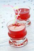 Non-alcoholic drink (grenadine, grapefruit- & lemon juice)