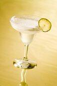 Margarita in cocktail glass