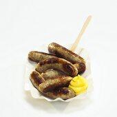 Nuremberg grilled sausage