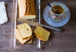 Baking with stevia: lemon loaf cake