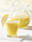 Pear and pineapple juice