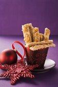 German gingerbread sticks
