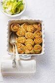 Allgäu herb pasta rolls