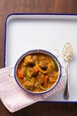 Curry goulash