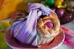 Greek Easter bread
