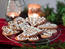 Iced gingerbread