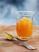 Pear chutney with rum