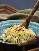 Cauliflower spread with toasted sesame