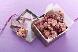 Cherry strudel cookies
