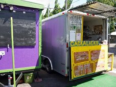 'Food Truck' (street kitchen) in Portland, Oregon